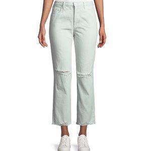 NWT J Brand Wynne Cropped Straight Leg Jeans